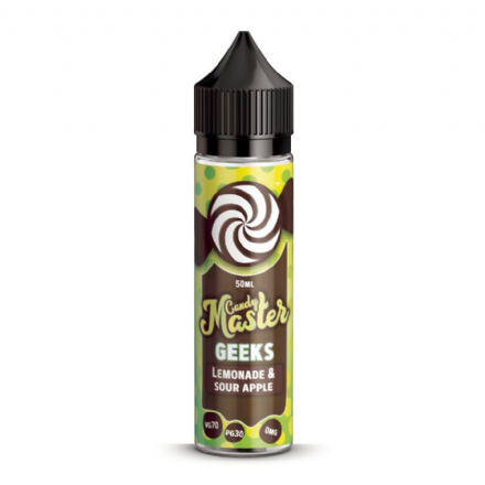 Candy Master Geek Lemonade & Sour Apple - 50ml